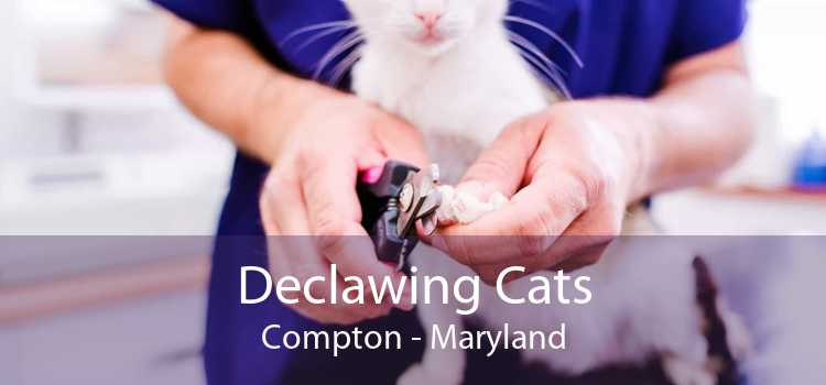 Declawing Cats Compton - Maryland