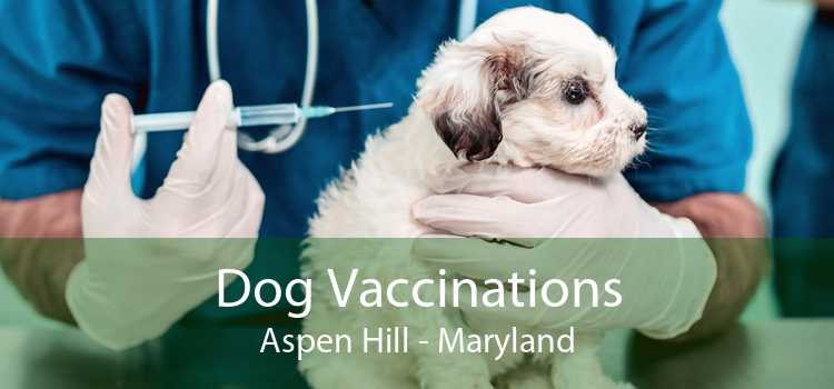 Dog Vaccinations Aspen Hill - Maryland