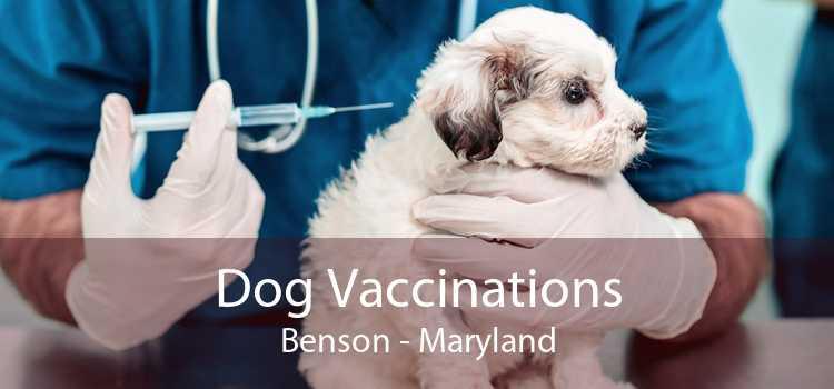 Dog Vaccinations Benson - Maryland