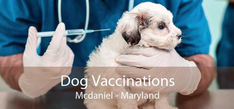 Dog Vaccinations Mcdaniel - Maryland