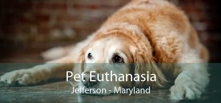 Pet Euthanasia Jefferson - Maryland